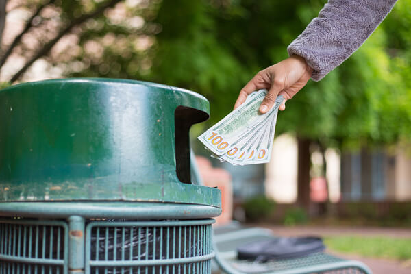 bigstock-Waste-Of-Money